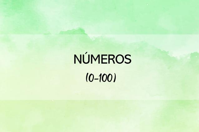 Los números (0-100) Quiz interactivo