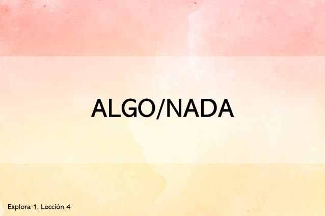 Algo/nada (mini-quiz interactivo)